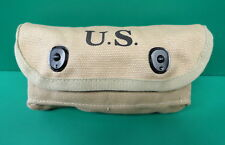 US 1942 SHOTGUN SHELL KHAKI FIELD POUCH