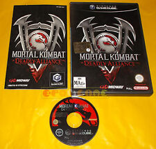 MORTAL KOMBAT DEADLY ALLIANCE Nintendo GameCube Ver Italiana 1ª Ed ○ COMPLETO AI