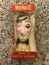 "New In Box Vintage Metal Art ""Wham-ee"" Winking Eye Bottle Opener"