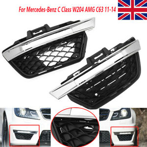 For Mercedes-Benz C Class W204 C63 11-14 Daytime Running Lights Fog Lamp Covers