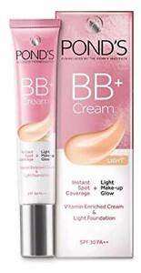 POND'S BB+ Cream, Instant Spot Coverage + Natural Glow Original 18gm Free Ship