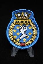 Canadian Navy RCN HMCS Acadia Ships Crest Patch