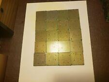 20 x amd pinned Gold CPU Processors Scrap Recovery Precious Metals