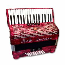 Accordions with 72 Bass Keys