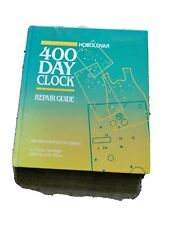 More details for horolovar repair guide book .400 day torsion anniversary clock repair guide 1991