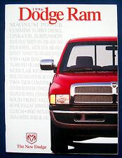Prospectus Brochure 1996 Dodge Ram Pickup Camion (USA)
