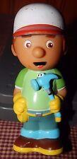 "Disney Handy Manny Pat Hammer Bath Tub Bathtub Toy PVC Plastic Action Figure 5"""