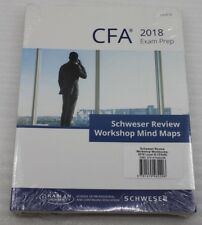Cfa (R) 2018 Schweser Cfa Review Workshop Mind Map Level III English Exam Prep