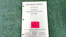Lionel # 76 Warning Bell And Shack Instructions Photocopy