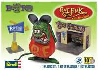 "Revell Monogram 7"" 6732-  Rat Fink w/ Diorama - Plastic Model Kit"