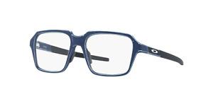 Oakley MITER Eyeglasses OX8154-0554 Satin Light Blue Frame W/ RX Demo Lens