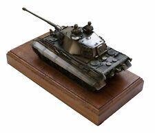 German King Tiger/Tiger II Tank Cold Cast Bronze Military Statue