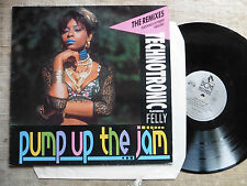 Technotronic Featuring Felly ‎– Pump Up The Jam (The Remixes) - LP
