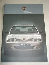 Proton Impian range brochure 2003