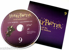 Harry Potter Deathly Hallows Stephen Fry Audio Book CD DISC SPARE: NINE 9