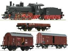 Fleischmann H0 412401 Dampflok BR 53 + 3 Wagen 591401 533153 545515 DB Ep.3 NEU