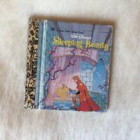 Little Little Golden Book DISNEY Sleeping Beauty 1986 1st Ed RARE Miniature