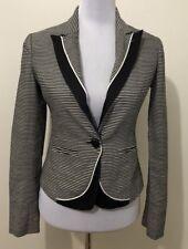 Ladies TOKITO Striped Fully Lined Blazer. Size 8-10