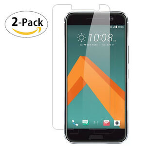 For HTC 10 One M10 2-Pack Tempered Glasses Screen Protector 2.5D Ultra HD Film