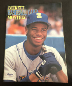 BECKETT BASEBALL CARD  MONTHLY ISSUE #64 JULY 1990-Griffey