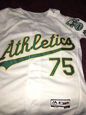 Barry Zito #75 Oakland Athletics MLB Baseball Jersey Tim Hudson Mulder SMALL