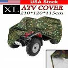 Camo Waterproof ATV Quad Bike Cover XL For Yamah Grizzly 350 450 550 600 660 US