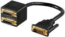 DVI-Stecker > 2 x DVI-Buchse; DVI ADAP 24+1 DVI-D > 2x DVI-D