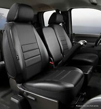 Fia Factory Custom Fit 14-19 Silverado Sierra 1500 2500 Front Seat Cover Leather
