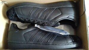 Women's  Adidas  Original Superstar W Black trainers Size UK 8.5 EU 42.5 *NIB*