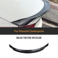 Carbon Spoiler Heckspoiler Abrisskante Lippe Für Maserati Quattroporte Limo13-19