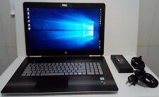 """HP Pavilion 17-ab250sa - 17.3"""", i7-7700HQ, 8GB, 1TB+128SSD, GTX1050 4GB - NUEVO!"""