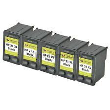 5x HP 21 XL für Deskjet F370 F375 F380 F390 F394 F4150 F4100 F4180 F4172 F4180
