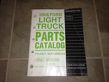 2006 Ford Expedition Parts Catalog Manual XLS XLT Sport Eddie Bauer Limited