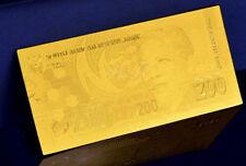 """★★ AFRIQUE DU SUD / SOUTH AFRICA : BILLET POLYMER  """" OR """" DU 200 RAND ★"""