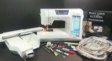 Baby Lock Ellageo Esg Sewing/Embroidery Machine Combo with USB