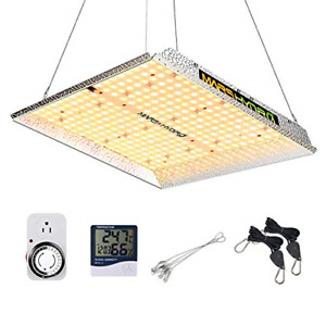 MARS HYDRO TS 1000W Led Grow Light 3x3ft Coverage Upgraded Daisy Chain Dimmable