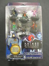 OEJ ~ DC Heroclix ~ Batman The Animated Series ~ 6 Figure Starter Set