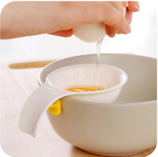 1pcs Bakeware Gadget Egg Yolk Separator Egg Sieve Device Mini Kitchen Tools CA