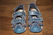 Sandalen Gr 28 Klettverschluss Noppen Fussbett Halbschuhe Schuhe