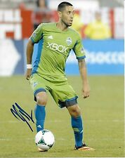 Seattle Sounders Clint Dempsey Autographed Signed 8x10 Photo COA A