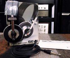 Pioneer SE-6 stereo headphones. Vintage NEW IN BOX