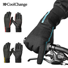 Thick Windproof Warm Cycling Bike Gloves Polar Fleece Winter Gloves Three Color