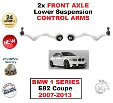 2x FRONT AXLE LEFT+RIGHT Lower CONTROL ARMS For BMW 1 SERIES E82 Coupe 2007-2013
