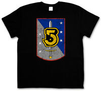 VINTAGE ARMY OF LIGHT LOGO T-SHIRT - Space Center TV Series Babylon 5 T-Shirt
