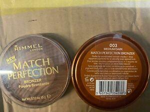 RIMMEL MATCH PERFECTION BRONZER POWDER - 003 MEDIUM / DARK 15 G