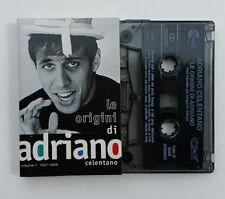 MC Musicassetta Le origini di Adriano Celentano Volume 1 1957-1968 Cassette Tape
