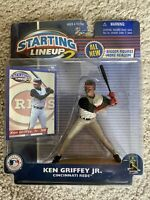 2001 Starting Lineup 2 Ken Griffey JR Cincinnati Reds