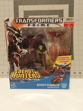BEAST HUNTERS SHOCKWAVE; Transformers Prime 2012 Hasbro, BRAND NEW MISB