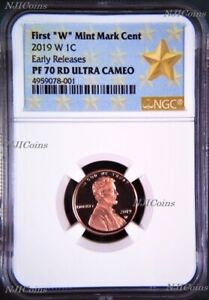 2019 W Proof Lincoln Penny Cent West Point NGC RD PF UC 70 ER (Star Label)
