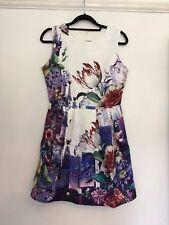 Women's Unbranded / Purple Floral / Shift Dress / Size M